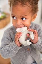 Load image into Gallery viewer, Oli & Carol - Nelly The Elephant Natural Rubber Teether Toy