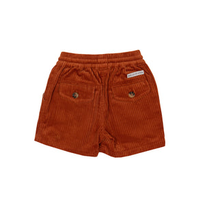 Goldie + Ace - Noah Corduroy Shorts (Cinnamon)