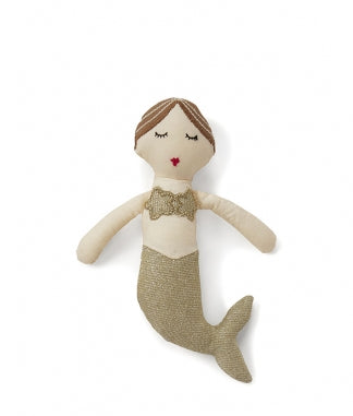 Nanahuchy - Mia Mermaid Rattle (Gold)