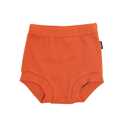 Rock Your Baby - Burnt Orange Rib Nappy Cover