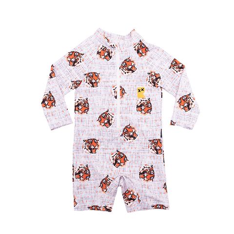Rock Your Baby - Easy Tiger Long Sleeve Swimsuit