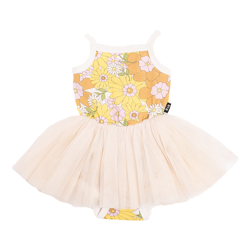 PRE-ORDER Rock Your Baby - Flower Power LouLou Circus Dress (Baby)