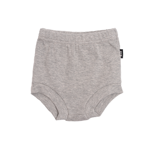 Rock Your Baby - Grey Marle Rib Nappy Cover