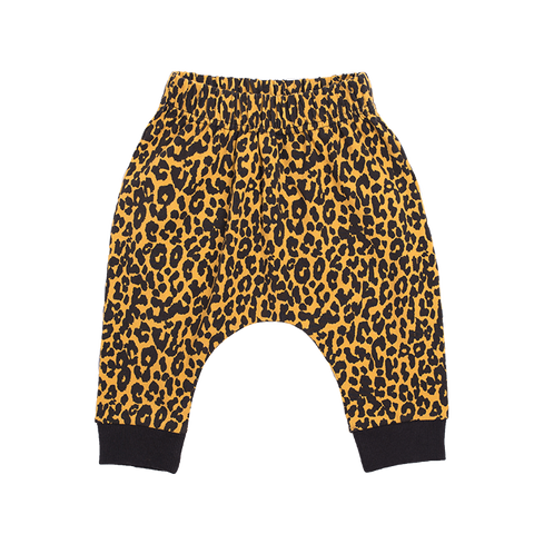 Rock Your Baby - Leopard Skin Drop Crotch Pants