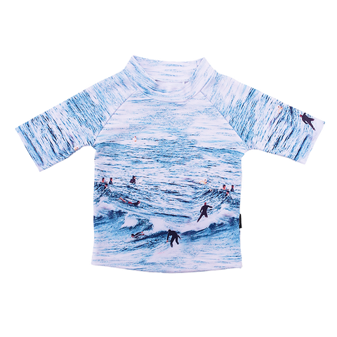 Rock Your Baby - Ocean Break Short Sleeve Rashie