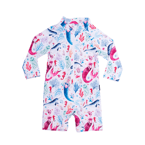 Rock Your Baby - Ocean Sprite Long Sleeve Swimsuit
