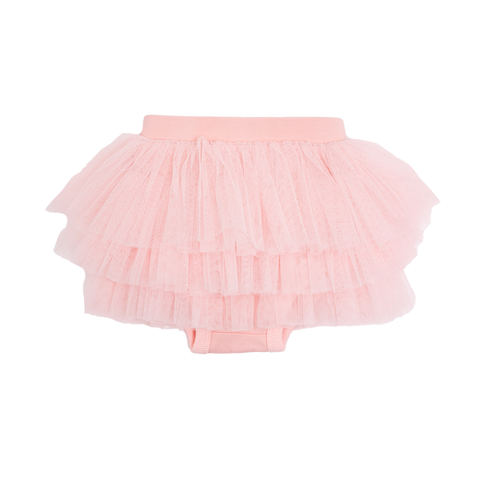 Rock Your Baby - Pink Tulle Nappy Cover