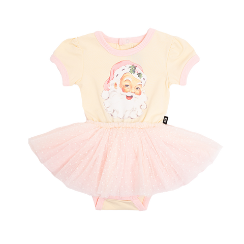 Rock Your Baby - Santa Short Sleeve Circus Dress (Baby)