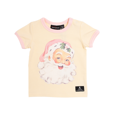 Rock Your Baby - Santa Short Sleeve T-Shirt (Baby)