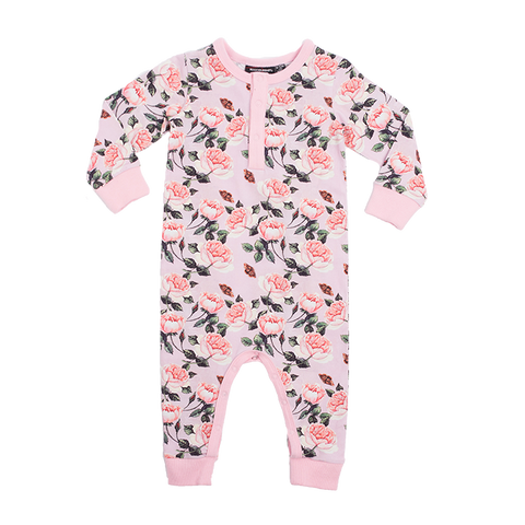 Rock Your Baby - Shabby Chic Long Sleeve Playsuit