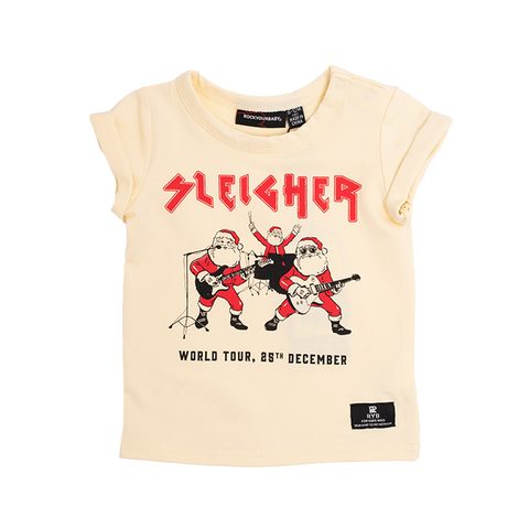 Rock Your Baby - Sleigher Tour Short Sleeve T-Shirt (Baby)