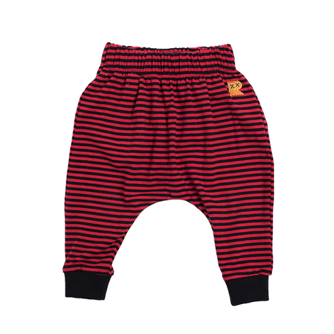Rock Your Baby - Stripe Drop Crotch Pants