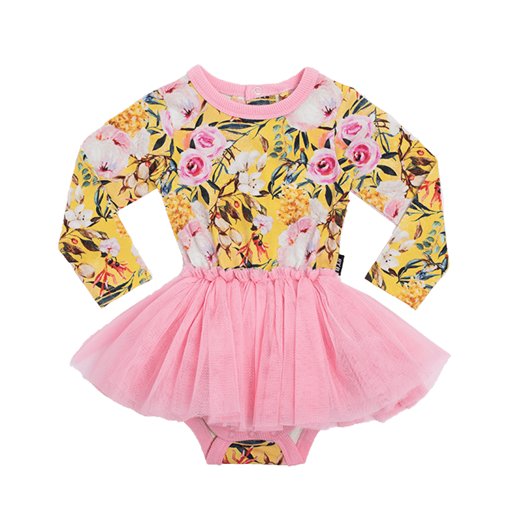 Rock Your Baby - Sturt Pea Long Sleeve Circus Dress