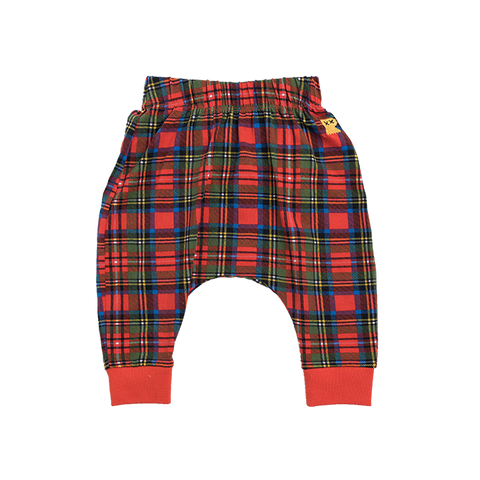 Rock Your Baby - Tartan Drop Crotch Pants