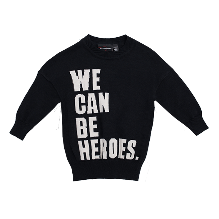 Rock Your Baby - We Can Be Heroes Pullover