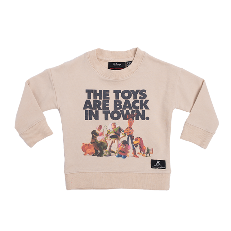 Rock Your Baby - The Toys Are Back Sweatshirt (Babies)