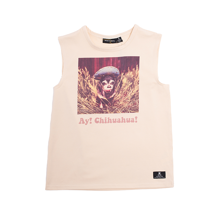 Rock Your Baby - Ay! Chihuahua Singlet