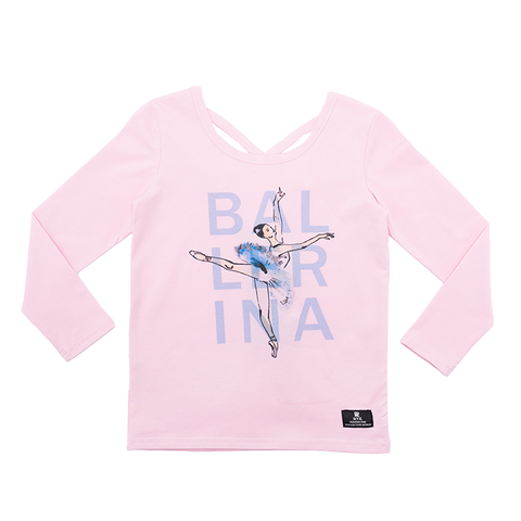 PRE ORDER - Rock Your Baby - Ballerina LS Girls T-Shirt