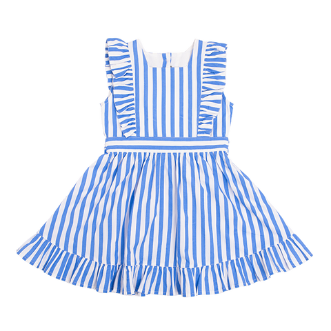 Rock Your Baby - Blue Stripe Babette Dress
