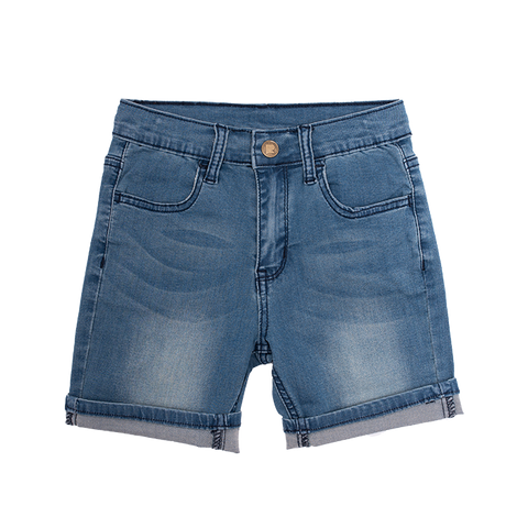 Rock Your Baby - Blue Wash Loyalty Denim Shorts