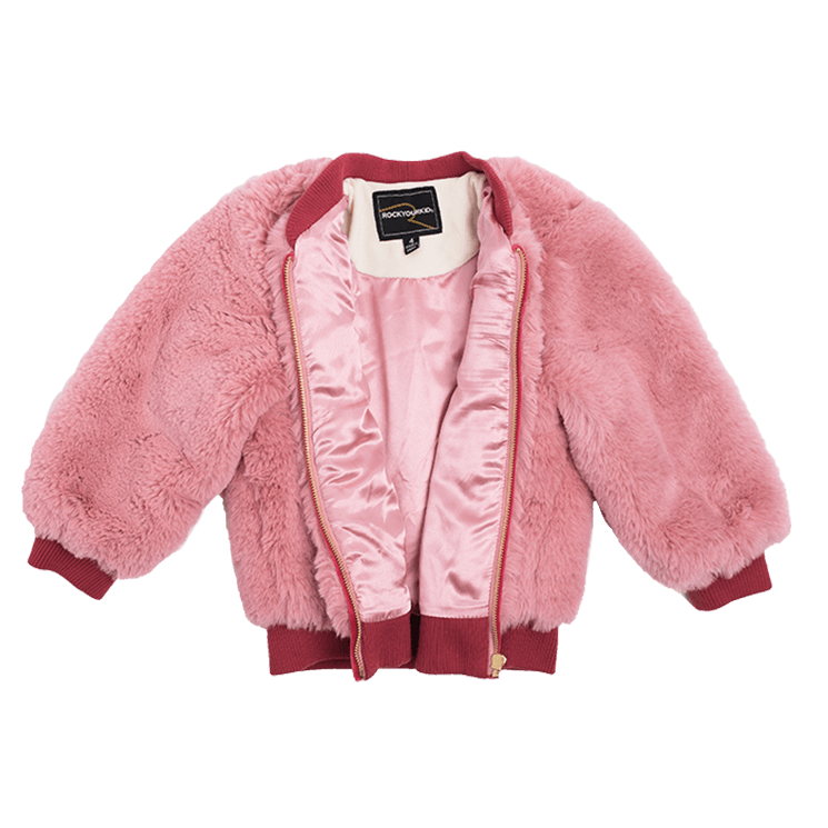 cba654a12 Rock Your Baby - Bomber Jacket (Pink)