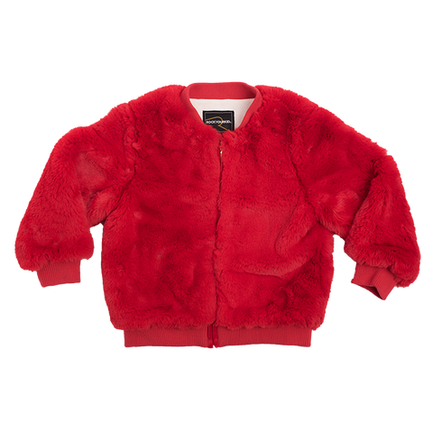 Rock Your Baby - Faux Fur Bomber Jacket