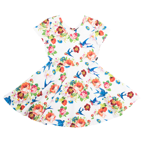 Rock Your Baby - Elsa Waisted Dress