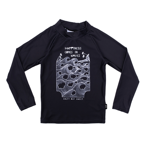 Rock Your Baby - Happiness Comes in Waves Long Sleeve Rashie