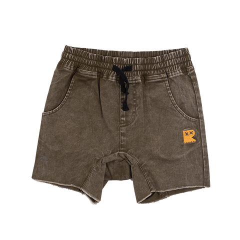 PRE-ORDER Rock Your Baby - Khaki Strollin' Shorts