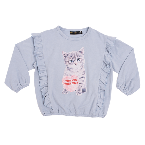 PRE ORDER - Rock Your Baby - Kitten LS Girls T-Shirt