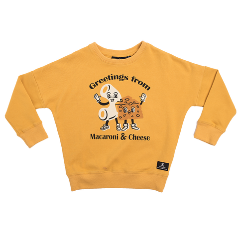 Rock Your Baby - Macaroni & Cheese Sweatshirt