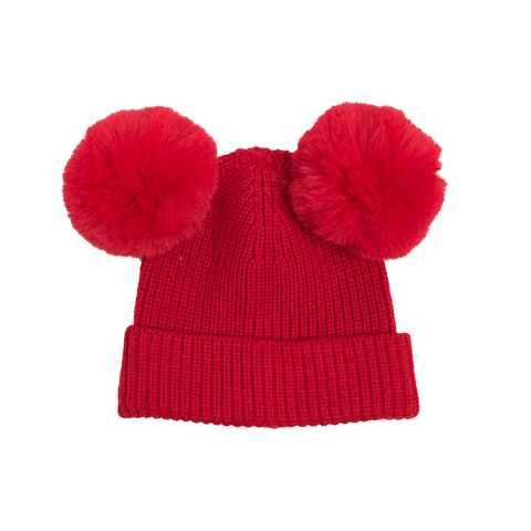 Rock Your Baby - Mickey Beanie (Red)
