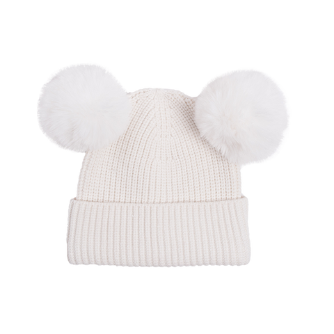 Rock Your Baby - Mickey Beanie (White)