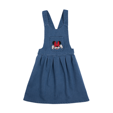 Rock Your Baby - Mini Mouse Patch Pinafore Dress