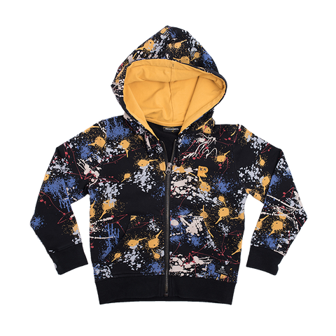 Rock Your Baby - Paint Splatter Hoodie