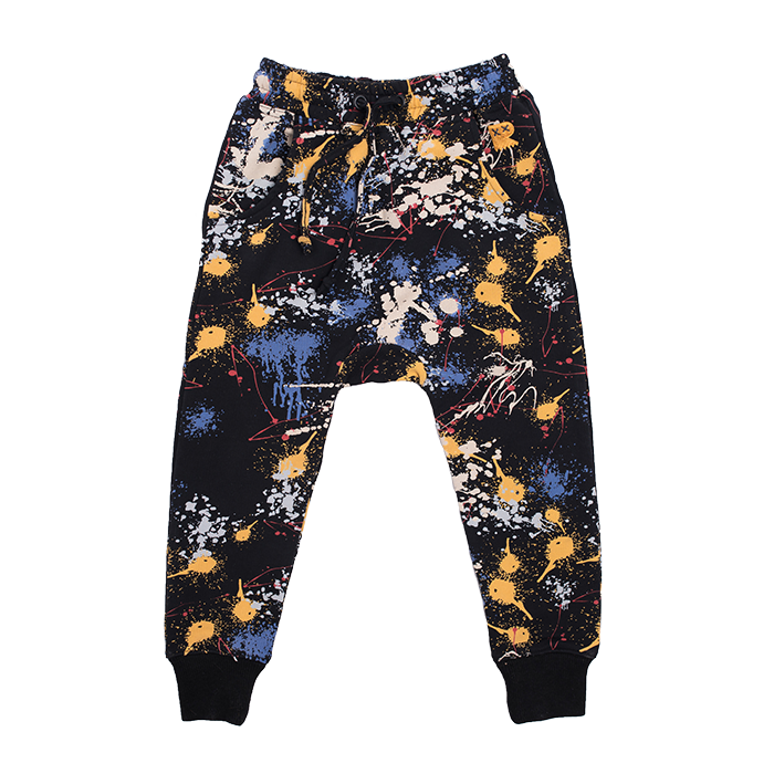 Rock Your Baby - Paint Splatter Track Pants