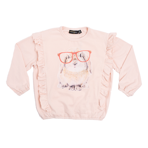 PRE ORDER - Rock Your Baby - Rabbit LS Girls T-Shirt