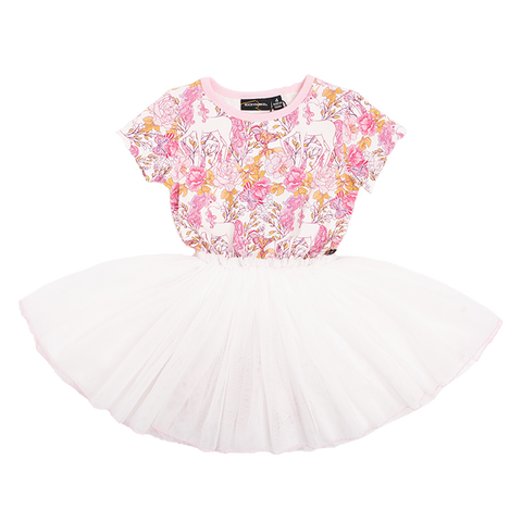 PRE-ORDER Rock Your Baby - Retro Unicorn Circus Dress (Girls)