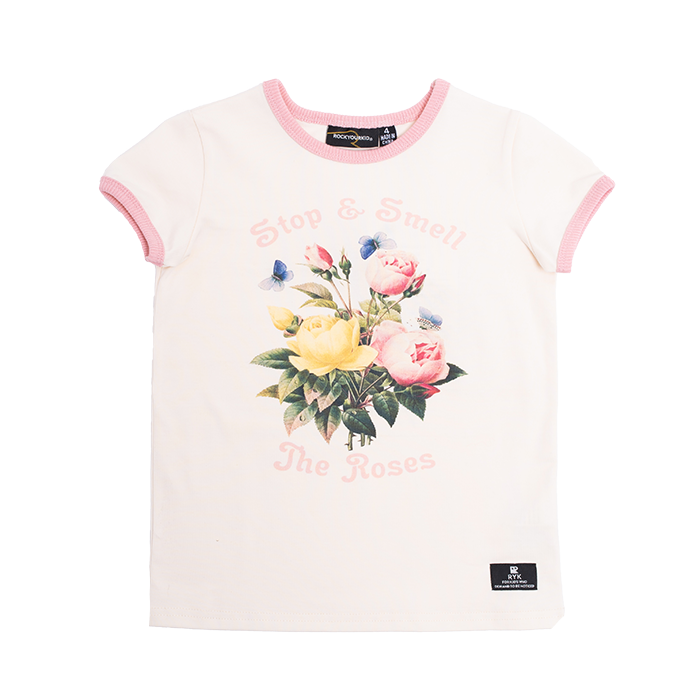 Rock Your Baby - Smell The Roses T-Shirt