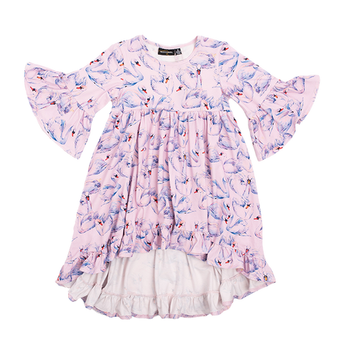Rock Your Baby - Swans Boho Dress