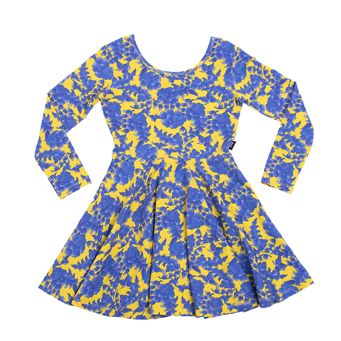 Rock Your Baby - Tang Long Sleeve Mabel Dress