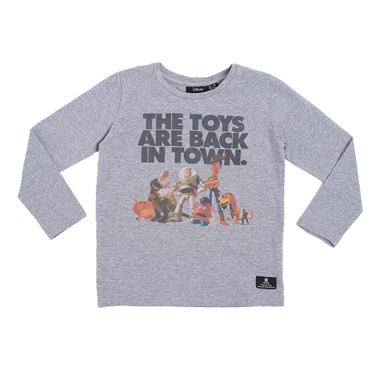 Rock Your Baby - The Toys Are Back Long Sleeve T-Shirt (Kids)