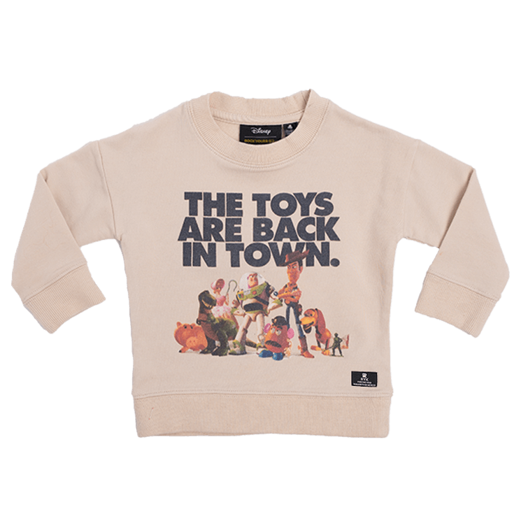 Rock Your Baby - The Toys Are Back Sweatshirt (Kids)