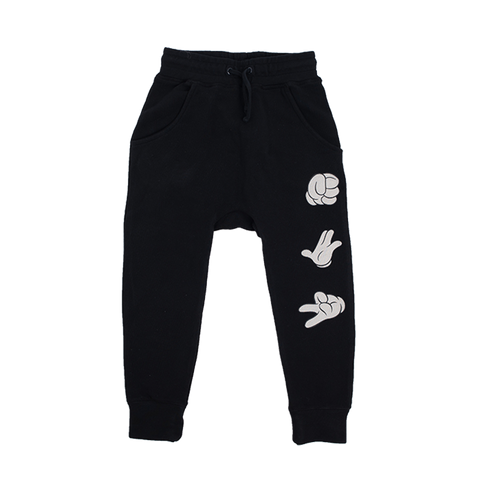 Rock Your Baby - Mouse Is The House Track Pants (Kids)