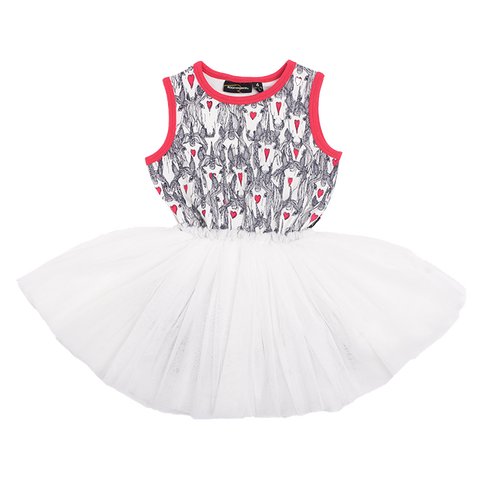 Rock Your Baby - Unicorn Love Singlet Circus Dress (Girls)