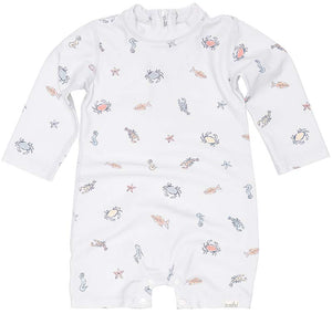 Toshi - Long Sleeve Swim Onesie - Rock Pool