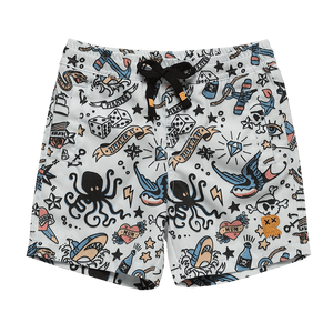 Rock Your Baby - Pirate Ink Boardshorts