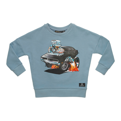 Rock Your Baby - Hot Rod Sweatshirt