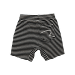 Load image into Gallery viewer, Rock Your Baby - Black/Cream Stripe Shorts