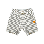 Load image into Gallery viewer, Rock Your Baby - Cream/Black Stripe Shorts